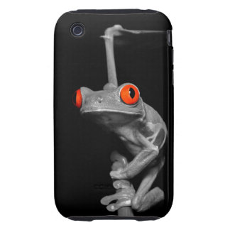 Red Eyed Tree Frog Tough iPhone 3 Case