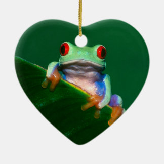 Red Eyed Tree Frog Christmas Ornament