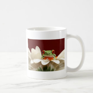 red eyed tree frog coffee mug