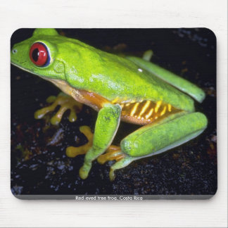 Red-eyed tree frog Costa Rica Mousepad