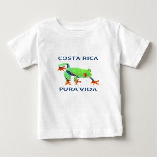 Red eyed tree frog Costa Rica Vida Baby T-Shirt