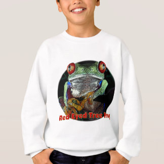 Red Eyed Tree Frog from Junglewalk.com Sweatshirt