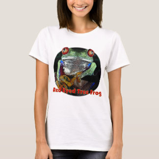 Red Eyed Tree Frog from Junglewalk.com T-Shirt