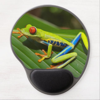 Red eyed tree frog gel mouse pad