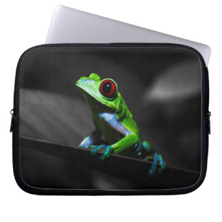 Red Eyed Tree Frog III Laptop Sleeve