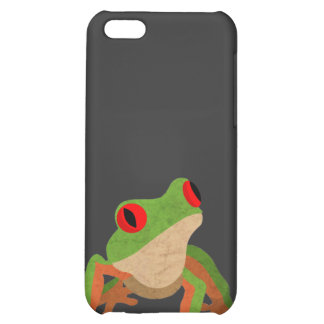 Red Eyed Tree Frog Case For iPhone 5C