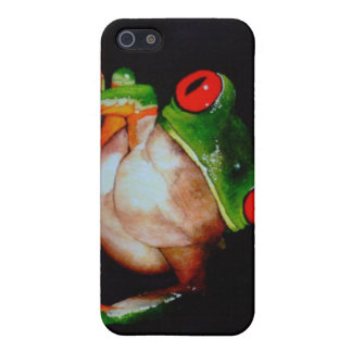 Red-Eyed Tree Frog iPhone Case Covers For iPhone 5