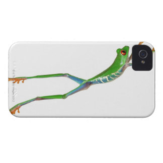 Red eyed tree frog jumping iPhone 4 cover