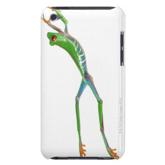 Red eyed tree frog jumping iPod Case-Mate case