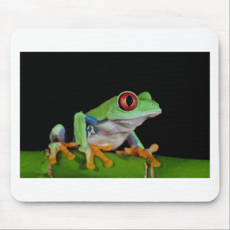 red eyed tree frog mousepad