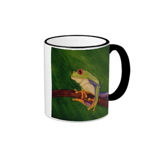 Red Eyed Tree Frog Mug