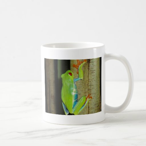 red-eyed tree frog mugs
