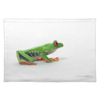 Red eyed tree frog placemat