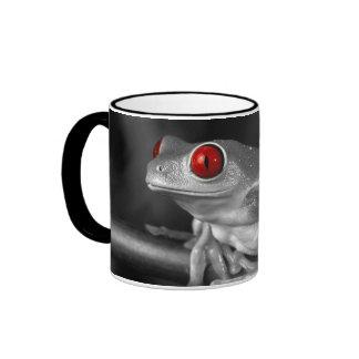 Red Eyed Tree Frog Ringer Mug