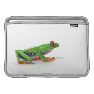 Red eyed tree frog sleeve for MacBook air