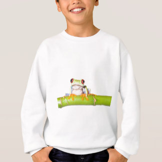 red eyed tree frog sweatshirt