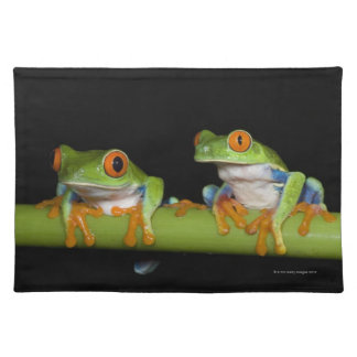 Red-eyed Tree Frogs (Agalychnis callidryas) Placemat