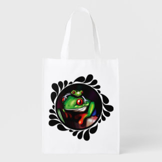 Red Eyed Tree Frogs Enviro Conscious Shopping Bag