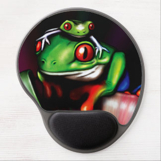 Red Eyed Tree Frogs Gel Mousepads