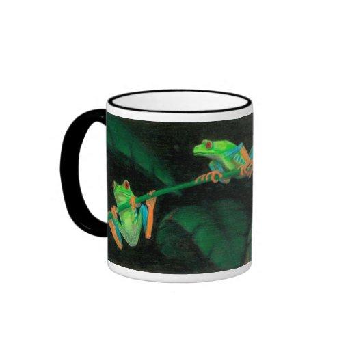 Red-Eyed Tree Frogs Mugs