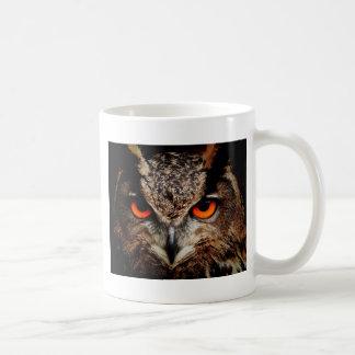 Red Eyes Eagle Owl Mug