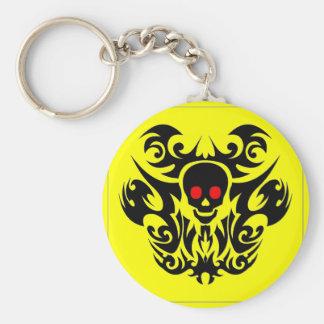 Red Eyes Skull keychain