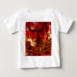 Red Face Graffiti Baby T-Shirt