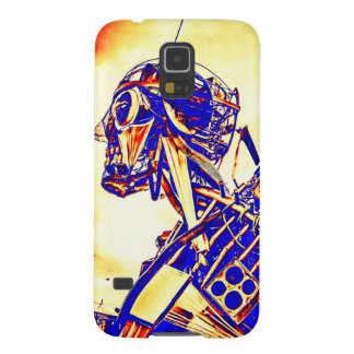 Red Faced Man Galaxy S5 Cover