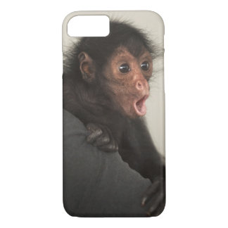 Red-faced Spider Monkey Ateles paniscus) iPhone 8/7 Case