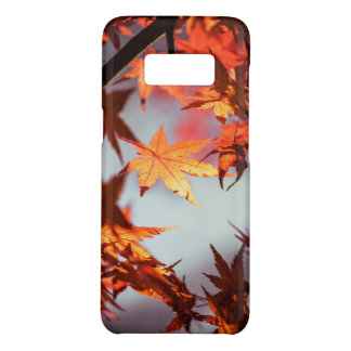Red Fall Autumn Leaves Maple Tree Case-Mate Samsung Galaxy S8 Case