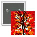 Red Fall Tree Badge