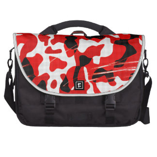 Red Fallout Camo (AOM Design) Laptop Bag