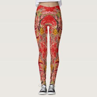 Red Fantasy Leggings