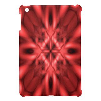 Red fantasy pattern iPad mini covers
