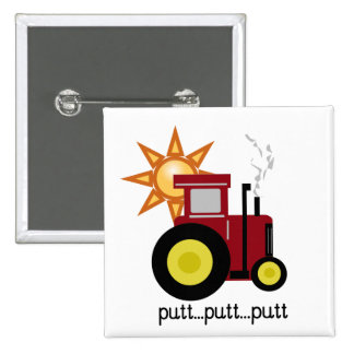 Red Farm Tractor Pins