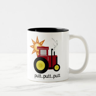 Red Farm Tractor Mug