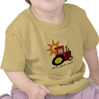Red Farm Tractor T-shirts and Gifts