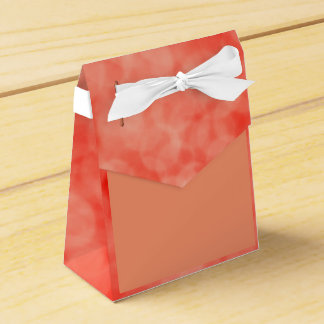 Red favor box with place for your text