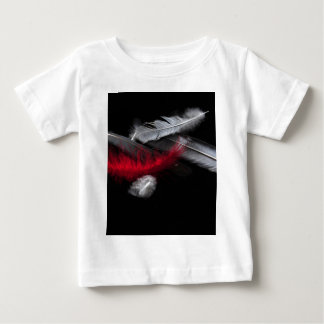 Red Feather Baby T-Shirt