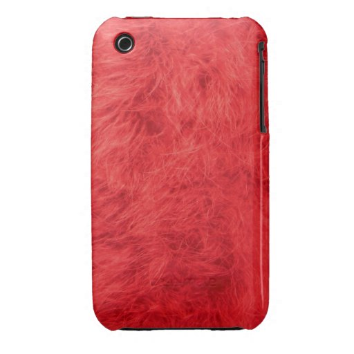 Red feather iPhone 3 case