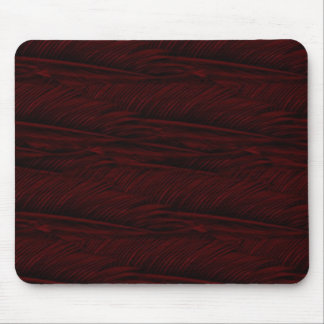 red feathers mouse mat