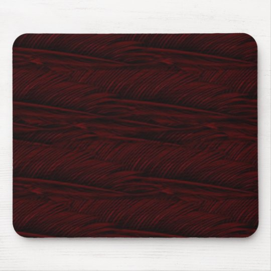 red feathers mouse pad