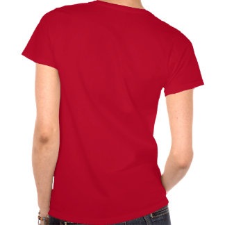 red female cilly cell tee