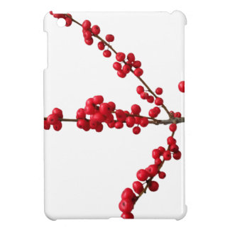 Red Festive Berrys Case For The iPad Mini