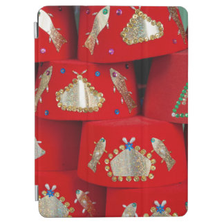 Red Fez Hats At Market iPad Air Cover