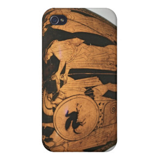 Red-figure krater case for iPhone 4