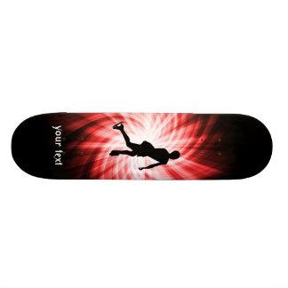 Red Figure Skating Skateboards