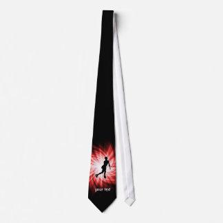 Red Figure Skating Tie