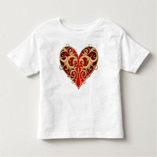 Red Filigree Heart Shirt