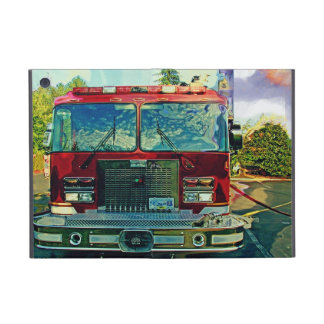 Red Fire Engine Fire-Fighter Truck iPad Case